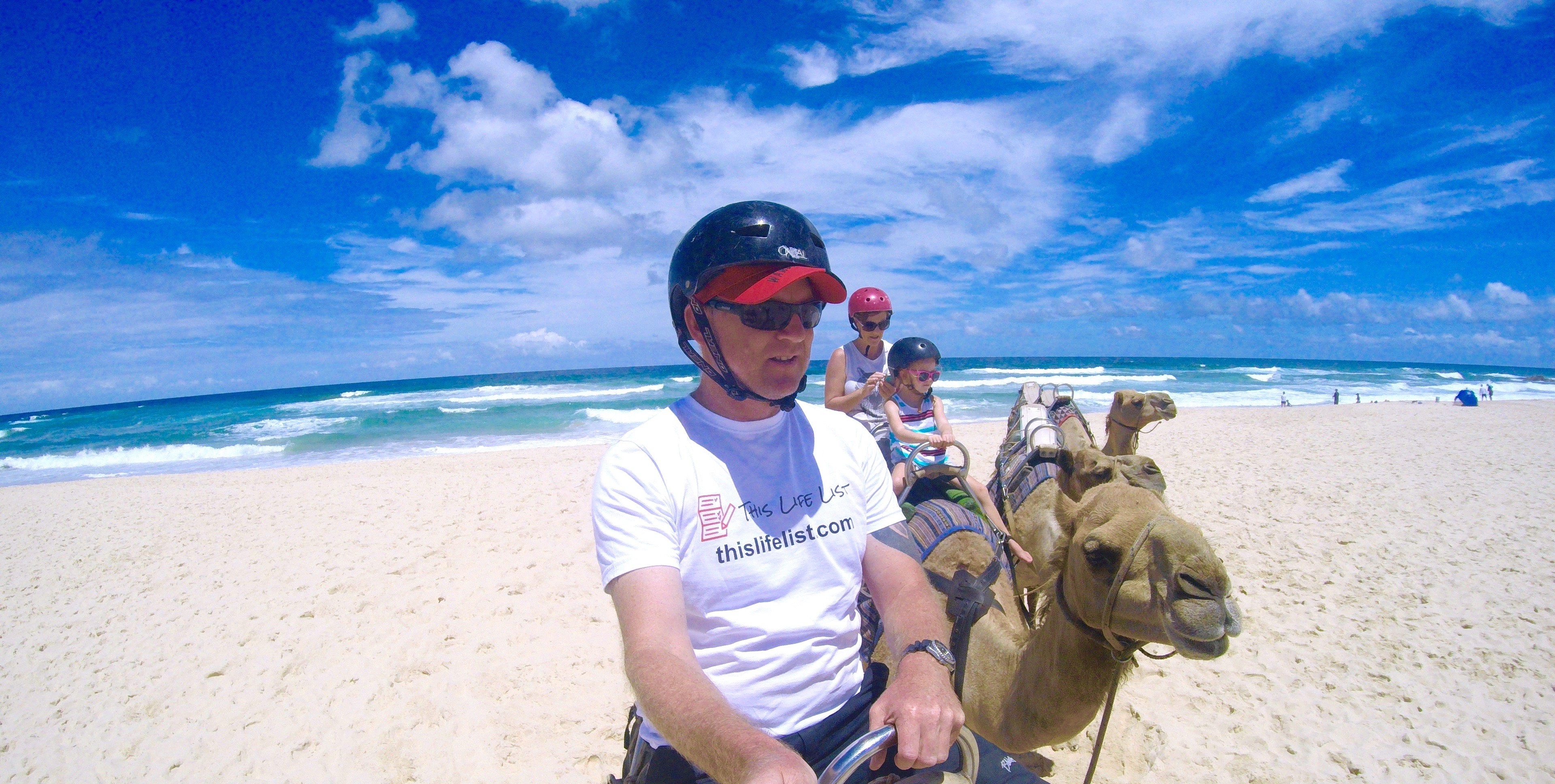 Camel Ride at Lighthouse Beach