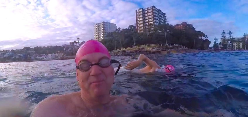 Treading water….my ocean swim adventure