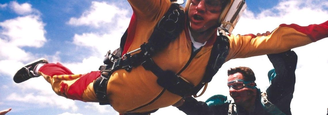 Freefalling into my skydiving adventure
