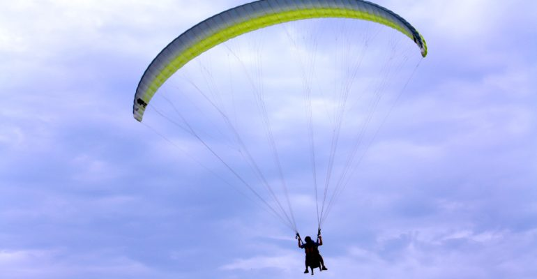 Soaring with the birds…my paragliding adventure