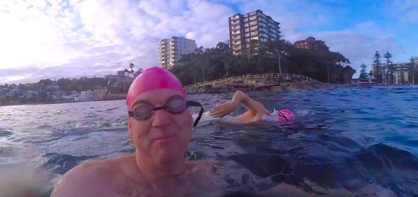 Treading water….my ocean swim adventure