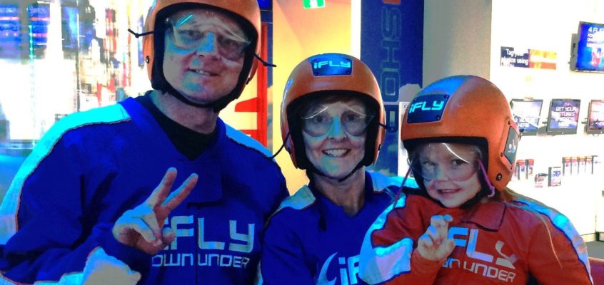 Indoor skydiving…Flying without the fear of death