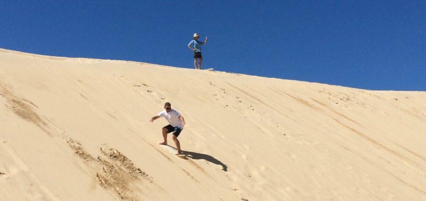 Shredding the dunes…my sand boarding adventure