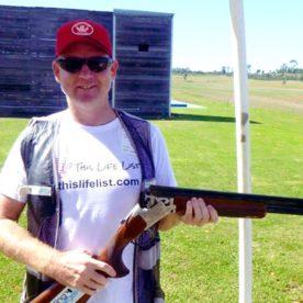 Lee Clay Target Shooting