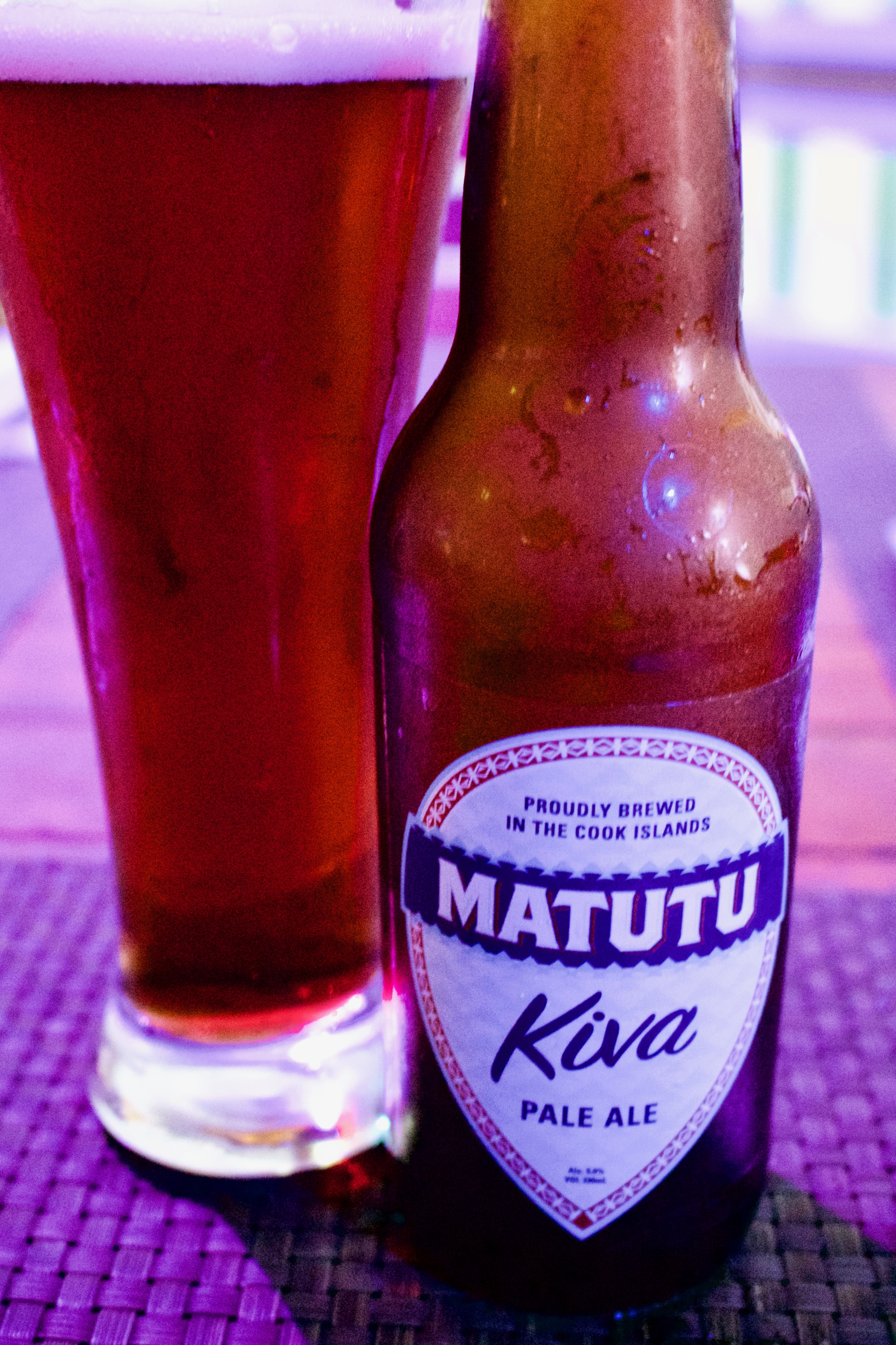 Matutu one of the 150 beers from aroud the world on the beer list